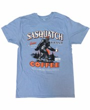 Sasquatch Coffee Made in Gatlinburg, TN T-Shirt