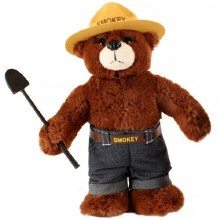Smokey the Bear 12""