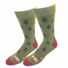 Camping Bigfoot Socks