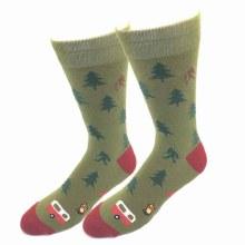 Camping Bigfoot Socks