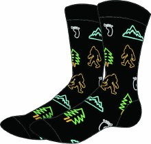 Neon Bigfoot Active Socks