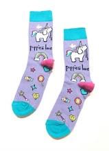 Women's Puppie Love Unicorn Crew Socks