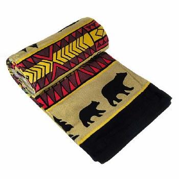 Bear Adventure Oversized Towel