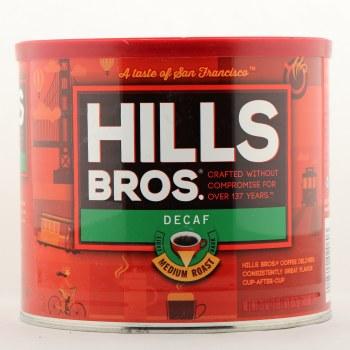 Hills Bros Decaf Medium Coffee 23 oz