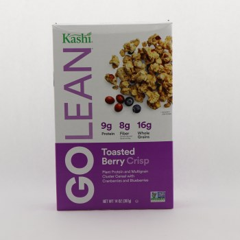Kashi Go Lean Toasted Berry Crisp 14 oz
