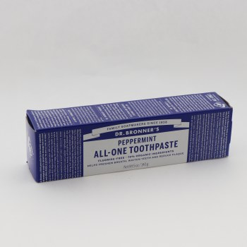 Dr. Bronner Peppermint All One Toothpaste