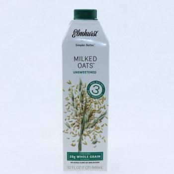 Elmhurst Milked Oats, Unsweetened  32 oz