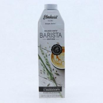 Elmhurst Milked Oats Barista Edition  32 oz