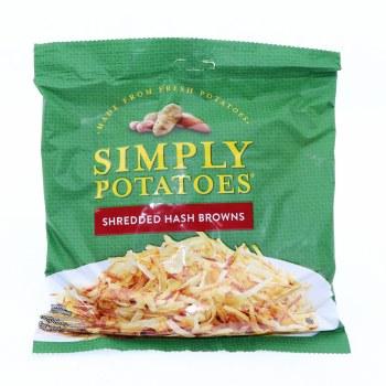 Simply Potatoes. Shredded Hash Browns. Gluten Free 20 oz