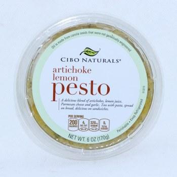 Cibo Naturals Artichoke Lemon Pesto 6 oz