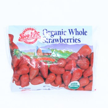 Sno Pac Org Wh Strawberries