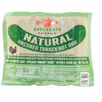 Applegate Unc Turkey Hot Dog
