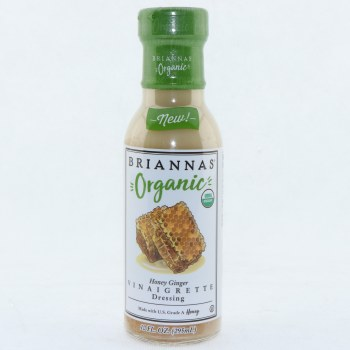 Briannas Org Honey Ginger