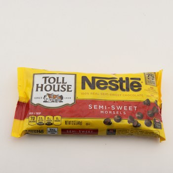 Nestle semi sweet morsels 12 oz