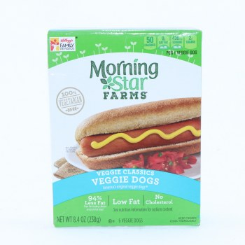 Morning Star Veggie Dogs