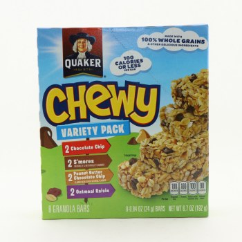 Quaker Chewy Variety
