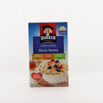 Quaker Flavor Variety Oatmeal