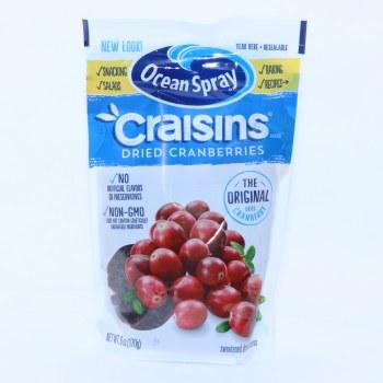 Ocean Spray Craisins, Dried Cranberries  6 oz