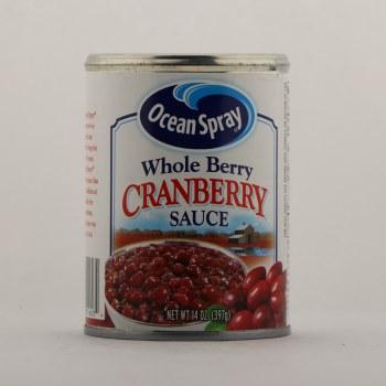 OS whole cranberry sauce 14 oz