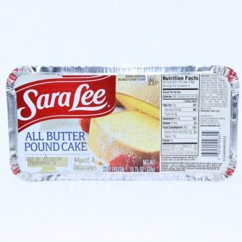 Sara Lee Butter Pound Cake, Moist & Delicious, 17.75 oz 1.79 oz