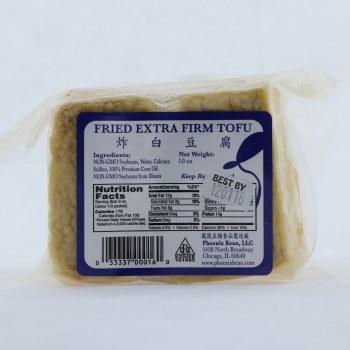 Phoenix Fried Extra Firm Tofu 10 oz