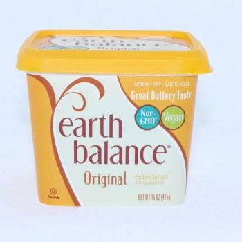 Earth Balance Original Butter Spread 78Per Cent Vegetable Oils Non GMO Vegan 0g Trans Fat Gluten Free Non Dairy 16 oz
