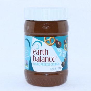Earth Balance Choco Pretzel Peanut Butter Gluten Free Vegan 16 oz