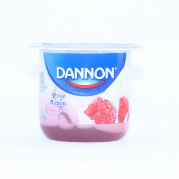 Dannon Raspberry Yogurt, 5.3oz, Lowfat Yogurt Gluten Free 6 oz