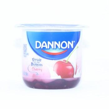Dannon, Cherry Yogurt, 5.3oz, Gluten Free, lowfat Yogurt 6 oz