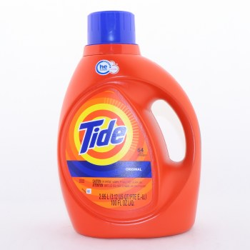 Tide Original HE Turbo Clean Detergent  64 Loads 100 oz