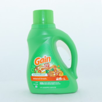 Gain Island Fresh Detergent +Aroma Boost 32 Loads 50 oz