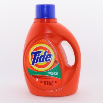 Tide Mountain Spring Detergent