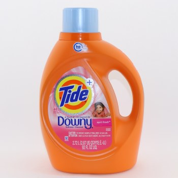 Tide April Fresh Detergent A Touch of Softness HE Turbo Clean 48 Loads