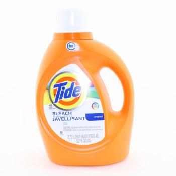 Tide Original Bleach Detergent HE Turbo Clean Safe on Colors