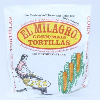 El Milagro Corn Tortillas 10 oz