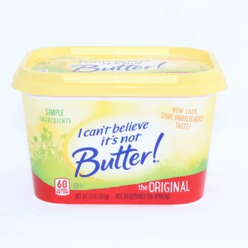I Cant Believe Orig Butter