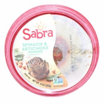 Sabra Spinach & Artichoke Hummus 10 oz