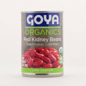 Goya organic kidney beans 15.5 oz