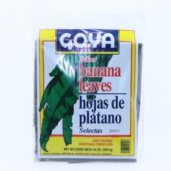 Goya Hojas de Platano  Banana Leaves 16 oz
