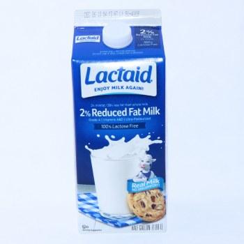 Lactaid 2% Reduced Fat Milk, 100% Lactose Free 64 oz
