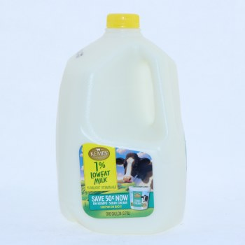 Kemps 1Per Cent Low Fat Milk 1 Gallon 128 oz
