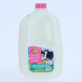 Kemps Fat Free Skim Milk  1 Gallon 128 oz