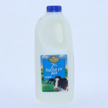 Kemps 2Per Cent Reduced Fat Milk Half Gallon