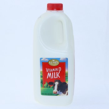 Kemps Vitamin D Milk  Half Gallon