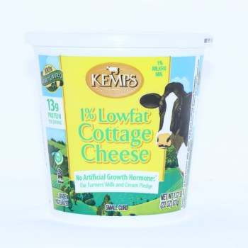 Kemps  1Per Cent Low Fat Cottage Cheese  22oz  Gluten Free 22 oz