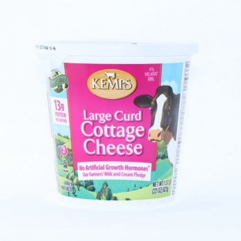 Kemps  Cottage Cheese  Large Curd  22oz  Gluten Free
