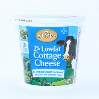 Kemps  2Per Cent Low Fat Cottage Cheese  22oz  Gluten Free 22 oz