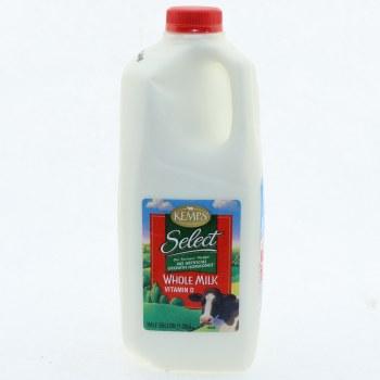 Kemps Whole Milk Half Gal