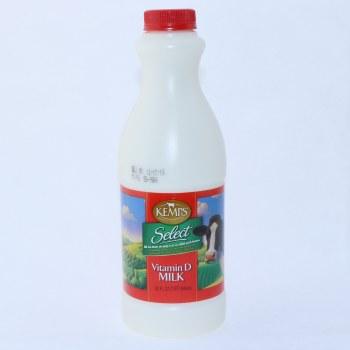 Kemps, Vitamin D Milk, 1 Quart 32 oz