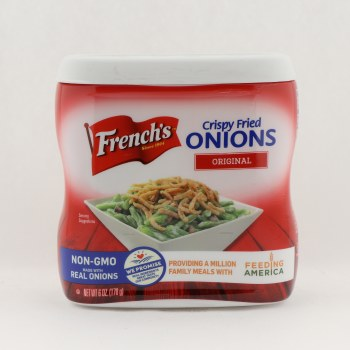 frenchs french fried onion 6 oz